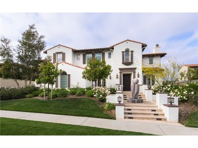 Calabasas Single Family Home For Sale: 25451 Prado De Azul