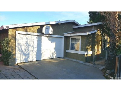 Castaic Single Family Home For Sale: 31912 Cinnabar Lane