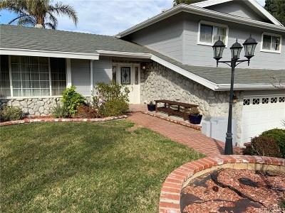 Single Family Home For Sale: 26231 Ridge Vale Drive