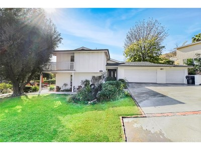 Newhall Single Family Home For Sale: 18906 Tenderfoot Trail Road