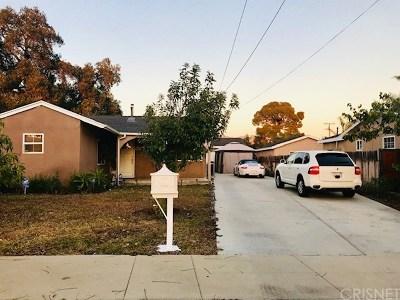 San Fernando Single Family Home For Sale: 715 7th Street