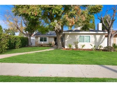 Winnetka Single Family Home For Sale: 20261 Runnymede Street