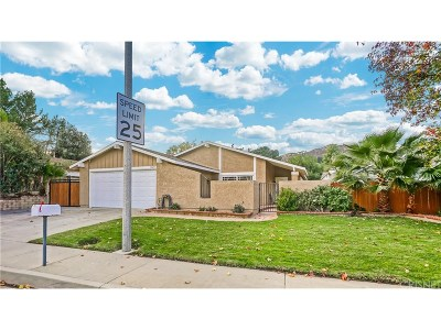 Castaic Single Family Home For Sale: 31625 Cherry Drive