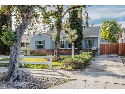 Toluca Lake Single Family Home For Sale: 5055 Auckland Avenue