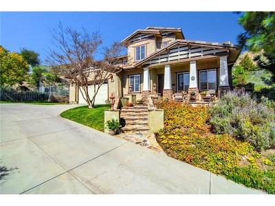 Newbury Park Single Family Home For Sale: 81 Via La Cima