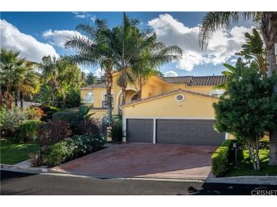 Tarzana Single Family Home For Sale: 5001 Brewster Drive