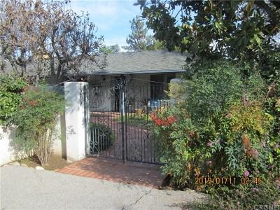 Tarzana Single Family Home For Sale: 5250 Topeka Drive