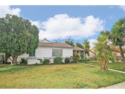Northridge Single Family Home For Sale: 16530 Lassen Street