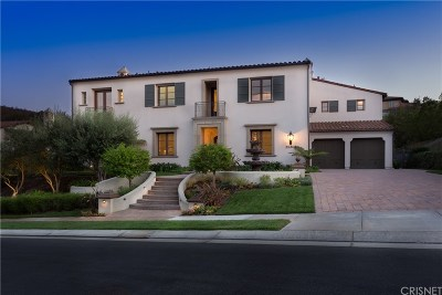 Calabasas CA Single Family Home For Sale: $3,799,000