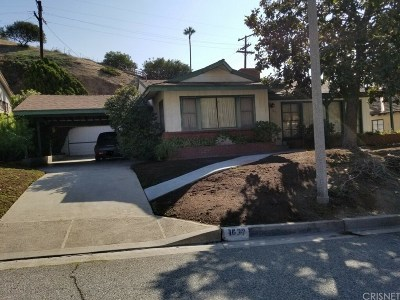Glendale Single Family Home Active Under Contract: 1630 Larco Way