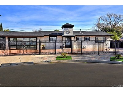 Chatsworth Single Family Home For Sale: 9746 Casaba Avenue