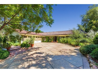 Westlake Village Single Family Home For Sale: 32369 Lake Pleasant Drive