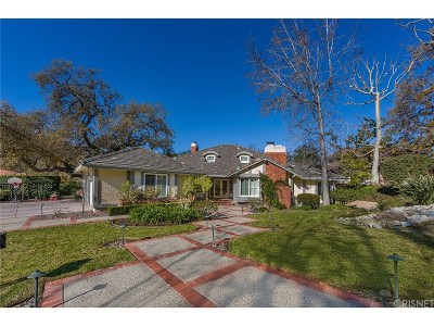 Westlake Village Single Family Home Sold: 1623 Larkfield Avenue