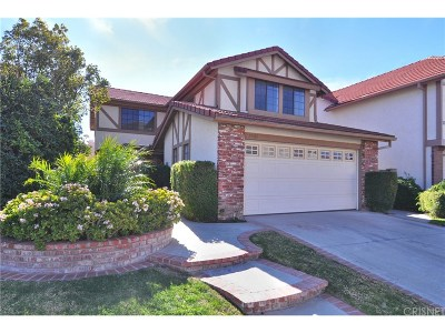 Northridge Single Family Home For Sale: 19644 Crystal Hills Drive
