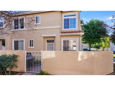 Stevenson Ranch Condo/Townhouse Active Under Contract: 25531 Schubert Circle #E