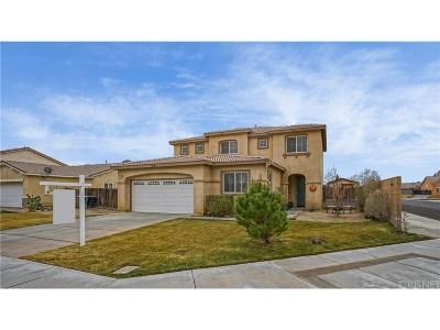 Rosamond Single Family Home For Sale: 3220 Summer Breeze Avenue