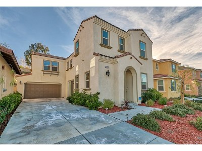 Canyon Country Single Family Home For Sale: 26809 Trestles Drive