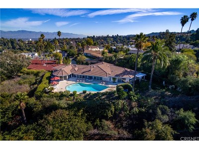 Encino Single Family Home For Sale: 3973 Westfall Drive