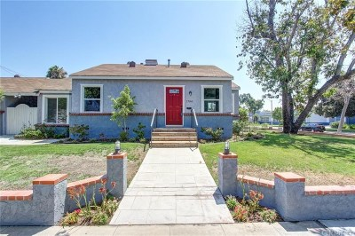Burbank Single Family Home For Sale: 1700 North Lima Street
