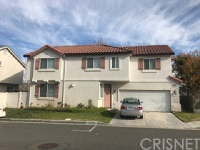Castaic Single Family Home For Sale: 31438 Arena Drive