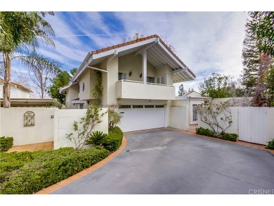 Calabasas Single Family Home For Sale: 4506 Park Verona