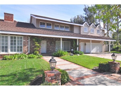 Tarzana Single Family Home For Sale: 5432 Calvin Avenue