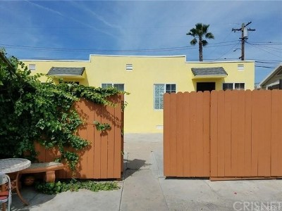 Los Angeles CA Single Family Home For Sale: $500,000