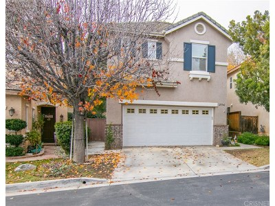 Castaic Single Family Home Active Under Contract: 27740 Elkwood Lane