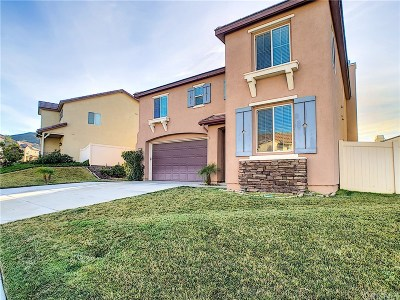Canyon Country Single Family Home Active Under Contract: 17111 Monterey Pines Lane
