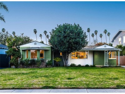 Studio City Single Family Home Sold: 4431 Ethel Avenue