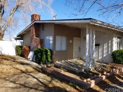 Palmdale Single Family Home For Sale: 1533 East Avenue Q11