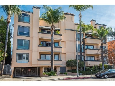 Encino Condo/Townhouse Sold: 5224 Zelzah Avenue #206