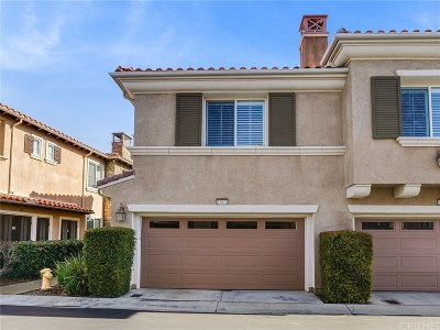Valencia Condo/Townhouse For Sale: 23924 Brescia Drive