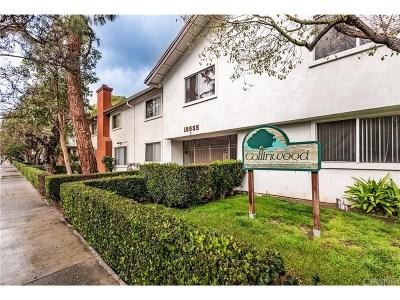 Tarzana Condo/Townhouse For Sale: 18555 Collins Street #C20