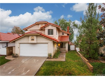 Canyon Country Single Family Home For Sale: 19322 Old Friend Road