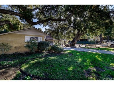 Newhall Single Family Home Active Under Contract: 23160 Davey Avenue