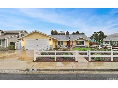 Camarillo Single Family Home For Sale: 166 Flora Vista Avenue
