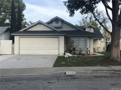 Castaic Single Family Home Active Under Contract: 31922 Gelding Road