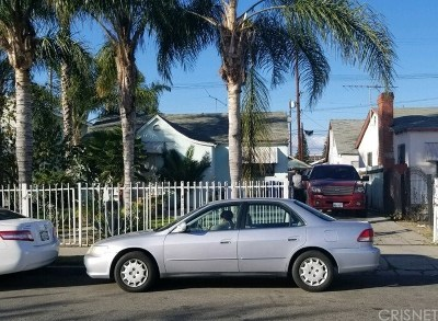Los Angeles CA Single Family Home For Sale: $460,000
