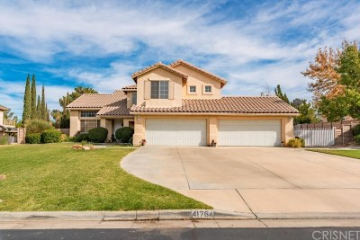Palmdale Single Family Home For Sale: 41764 Stratford Circle