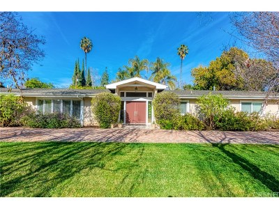 Encino Single Family Home For Sale: 17615 McCormick Street