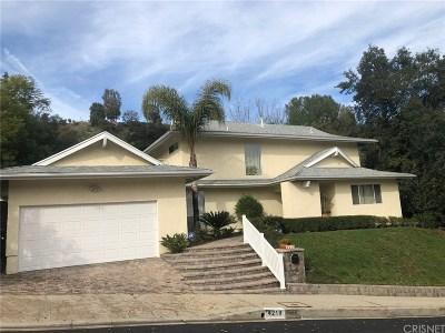 Tarzana Single Family Home For Sale: 4219 Nogales Drive