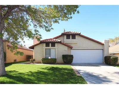 Palmdale Single Family Home For Sale: 37537 Lilacview Avenue