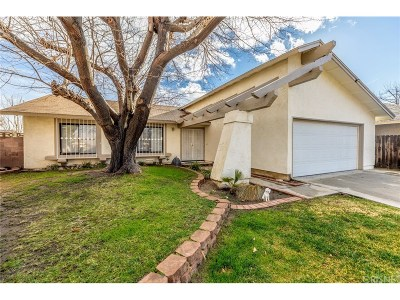 Lancaster Single Family Home For Sale: 627 Curve Circle