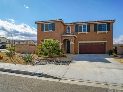 Lancaster Single Family Home For Sale: 42531 Camden Way