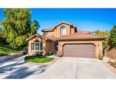 Stevenson Ranch Single Family Home For Sale: 25143 Huston Street