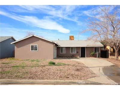 Palmdale Single Family Home For Sale: 38621 31st Street East