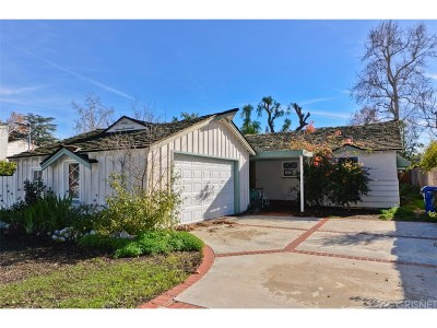 Woodland Hills CA Single Family Home For Sale: $575,000