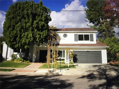 Calabasas CA Single Family Home Active Under Contract: $1,275,000