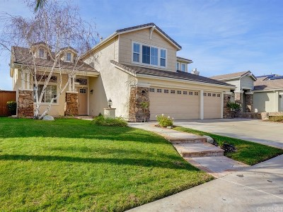 Canyon Country Single Family Home For Sale: 26451 Puffin Place